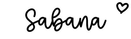About the baby nameSabana, at Click Baby Names.com