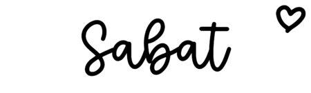 About the baby nameSabat, at Click Baby Names.com