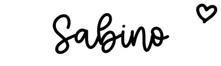 About the baby nameSabino, at Click Baby Names.com