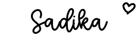 About the baby nameSadika, at Click Baby Names.com