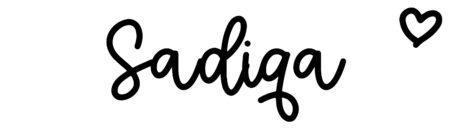 About the baby nameSadiqa, at Click Baby Names.com