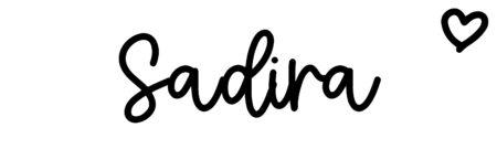 About the baby nameSadira, at Click Baby Names.com