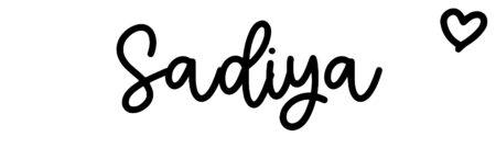 About the baby nameSadiya, at Click Baby Names.com