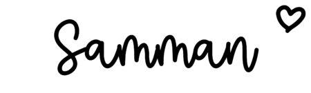 About the baby nameSamman, at Click Baby Names.com