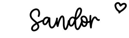 About the baby nameSandor, at Click Baby Names.com