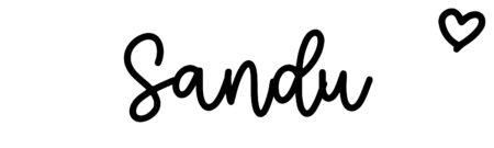 About the baby nameSandu, at Click Baby Names.com