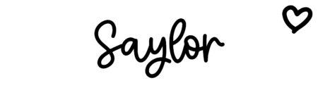 About the baby nameSaylor, at Click Baby Names.com