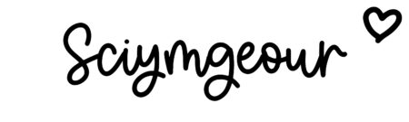 About the baby nameSciymgeour, at Click Baby Names.com