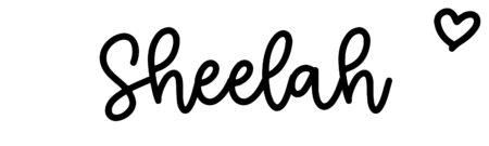 About the baby nameSheelah, at Click Baby Names.com