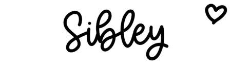 About the baby nameSibley, at Click Baby Names.com