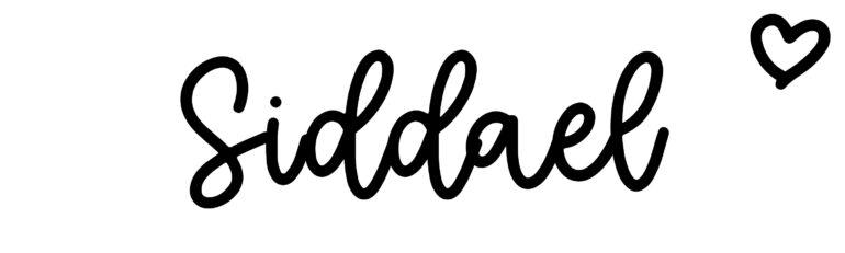About the baby nameSiddael, at Click Baby Names.com