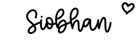 About the baby nameSiobhan, at Click Baby Names.com