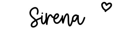 About the baby nameSirena, at Click Baby Names.com