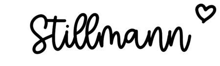 About the baby nameStillmann, at Click Baby Names.com