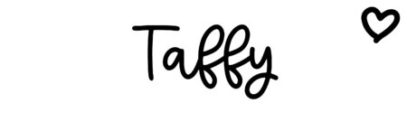 About the baby name Taffy, at Click Baby Names.com