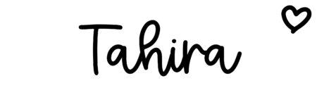 About the baby nameTahira, at Click Baby Names.com