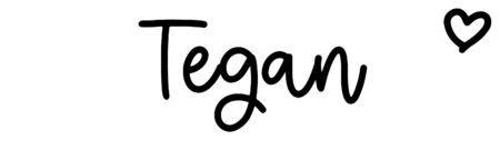 About the baby name Tegan, at Click Baby Names.com