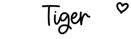 About the baby name Tiger, at Click Baby Names.com