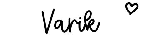 About the baby nameVarik, at Click Baby Names.com