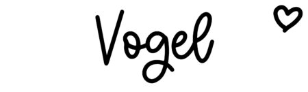 About the baby name Vogel, at Click Baby Names.com