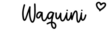 About the baby nameWaquini, at Click Baby Names.com