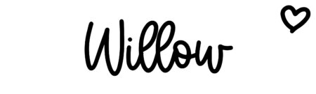 About the baby nameWillow, at Click Baby Names.com