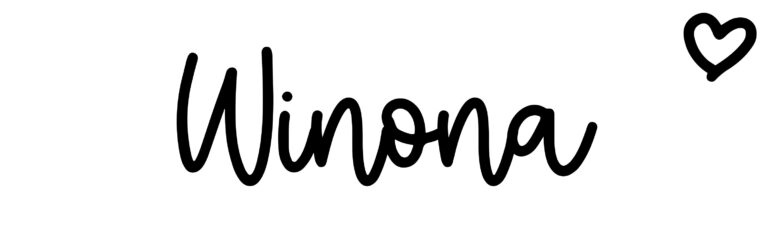 About the baby nameWinona, at Click Baby Names.com
