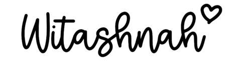 About the baby nameWitashnah, at Click Baby Names.com