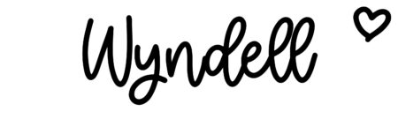 About the baby nameWyndell, at Click Baby Names.com