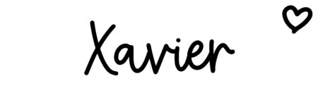 About the baby name Xavier, at Click Baby Names.com