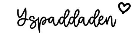 About the baby nameYspaddaden, at Click Baby Names.com