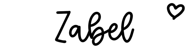 About the baby name Zabel, at Click Baby Names.com