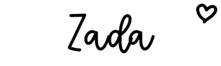 About the baby name Zada, at Click Baby Names.com