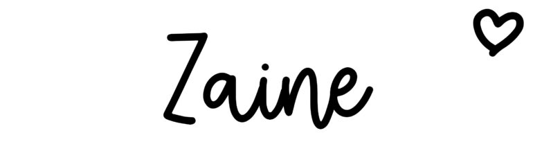 About the baby nameZaine, at Click Baby Names.com
