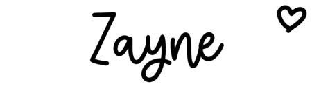 About the baby nameZayne, at Click Baby Names.com