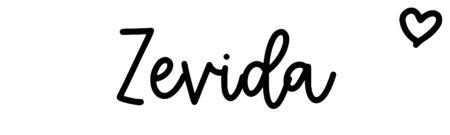 About the baby nameZevida, at Click Baby Names.com