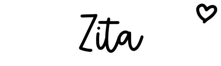 About the baby nameZita, at Click Baby Names.com