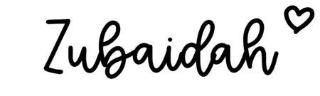 About the baby nameZubaidah, at Click Baby Names.com