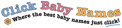Click Baby Names logo